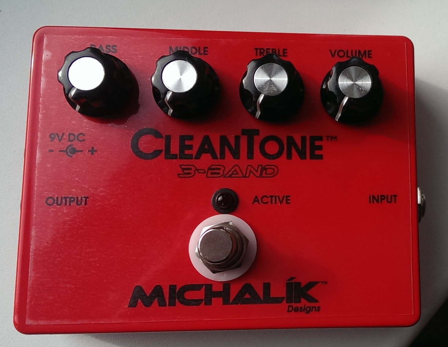 CleanTone - 3Band bass preamp