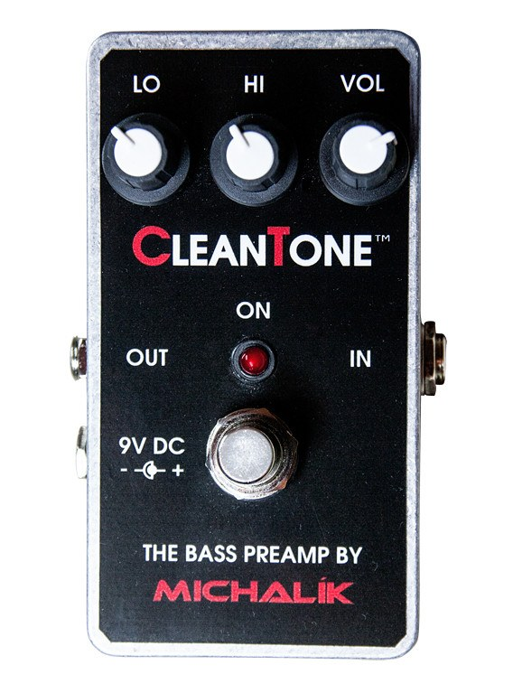 CleanTone bass preamp box